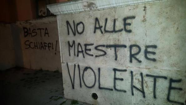 scritte-muri-scuola-piazza-dante-maestre-violente-6