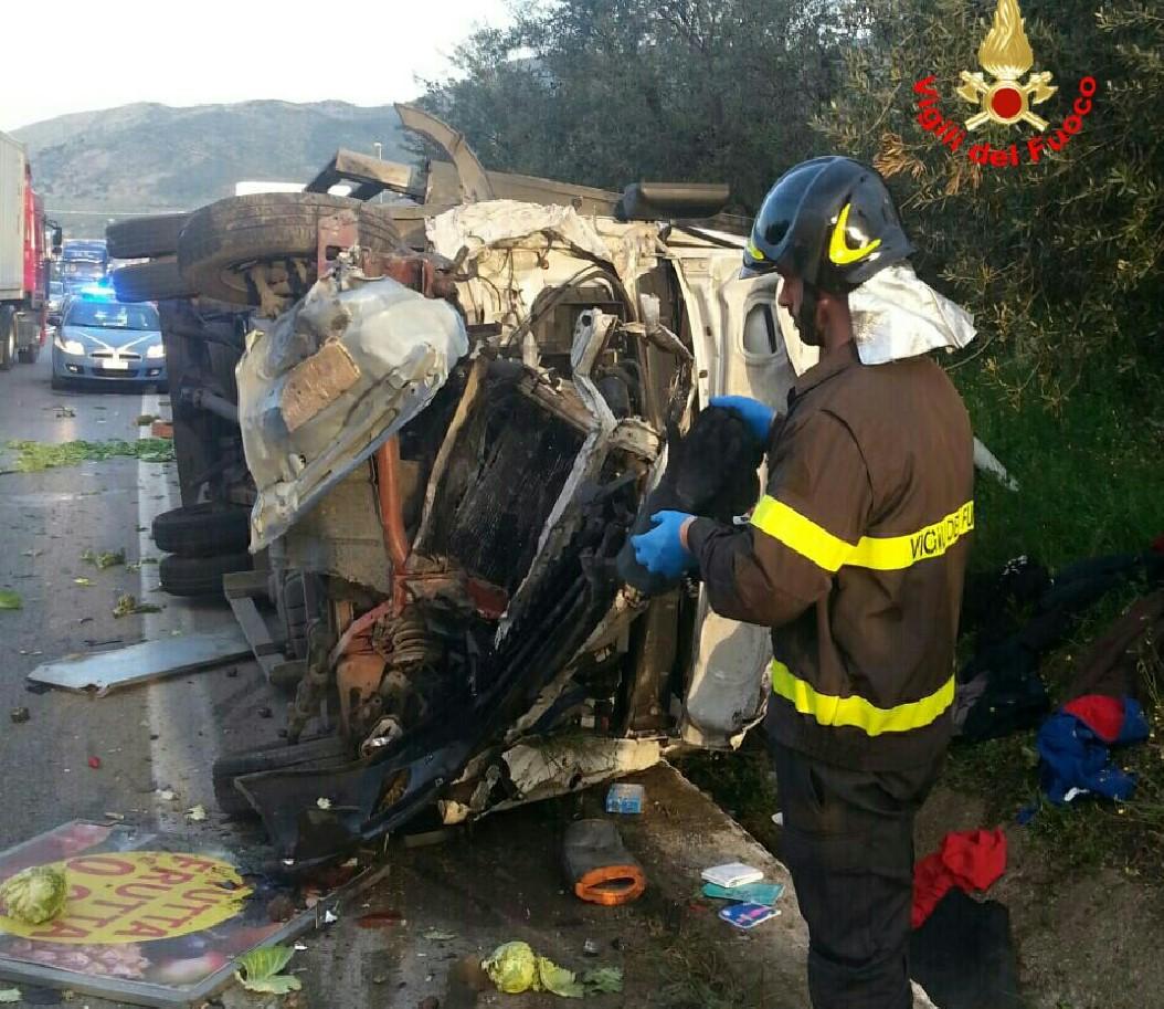 incidente-camion-strada