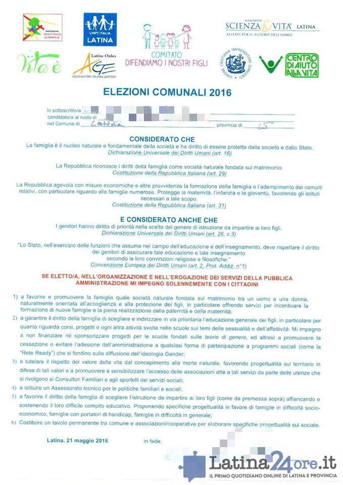 documento-antigay-sindaci-latina-2016-foglio