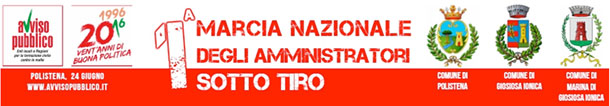 prima-marcia-nazionale-amministratori-sotto-tiro