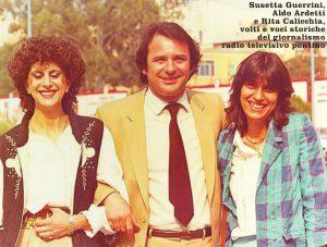 Da sinistra Susetta Guerrini, Aldo Ardetti e Rita Calicchia (foto Numerozero)