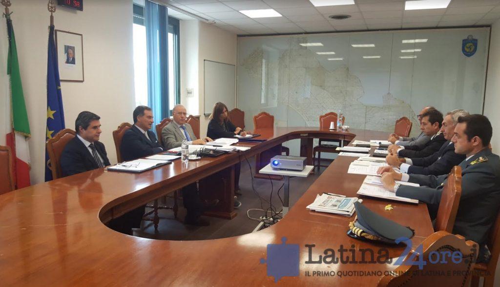 vertice-prefettura-latina-prefetto-forze-ordine-2016