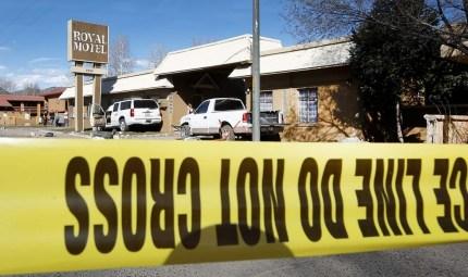 Il suv dopo l'investimento (foto Durango Herald)