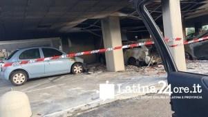 Incendio auto Q4 Latina