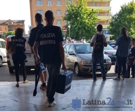 polizia-scientifica-stazione-latina