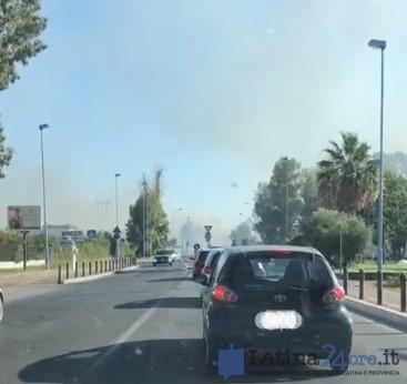 incendio-via-del-lido-latina