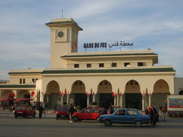 Fez Morocco train station