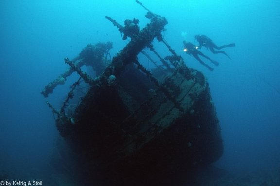 FriFotos Wreck diving