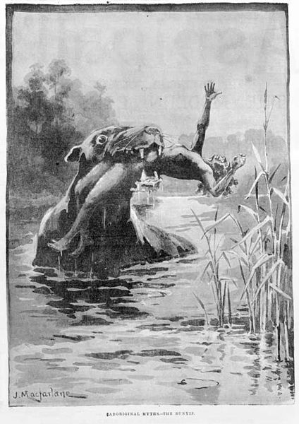 Australian superstitions, the Bunyip