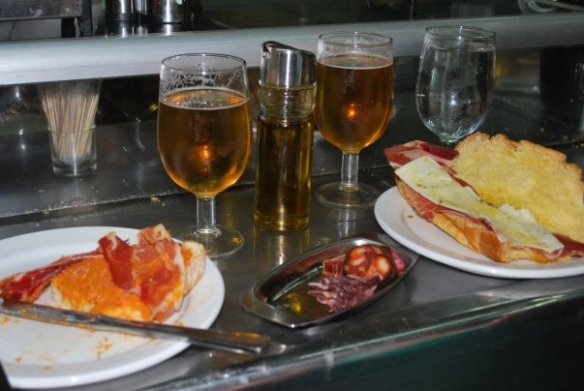 Spanish food Museo Del Jamon