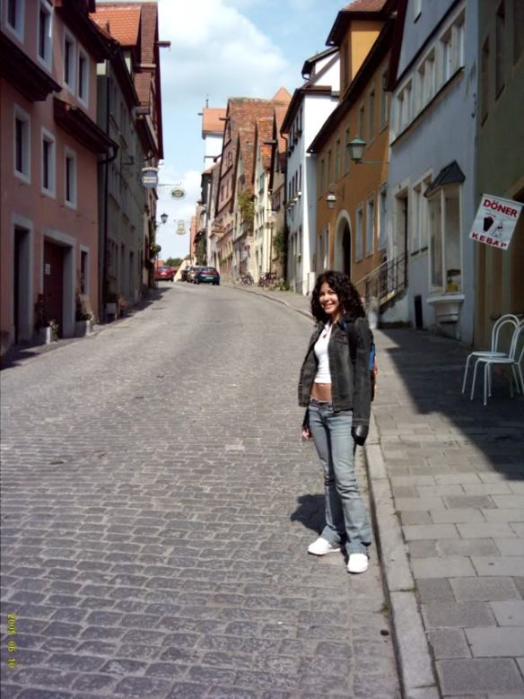 Europe trip, Rothenburg streets