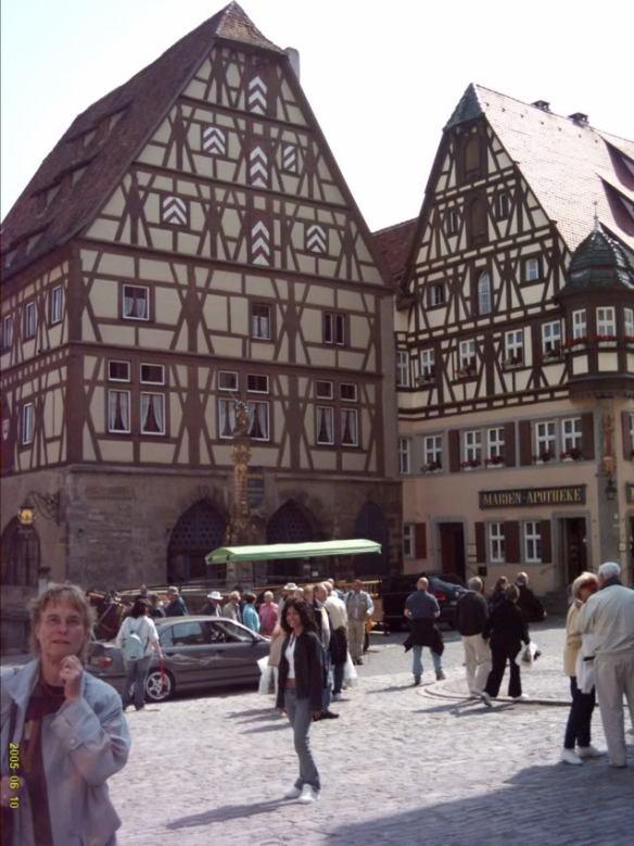 Europe 2005, Rothenburg buildings