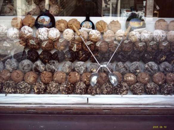 Europe 2005, Rothenburg sweets