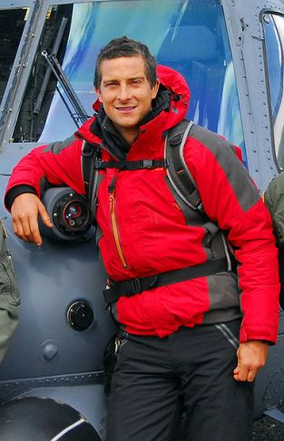 travel bucket list, Bear Grylls