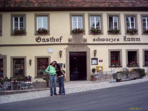 Europe Trip, German hotel