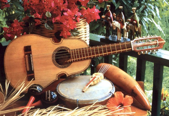 parranda puertorriqueña, instruments