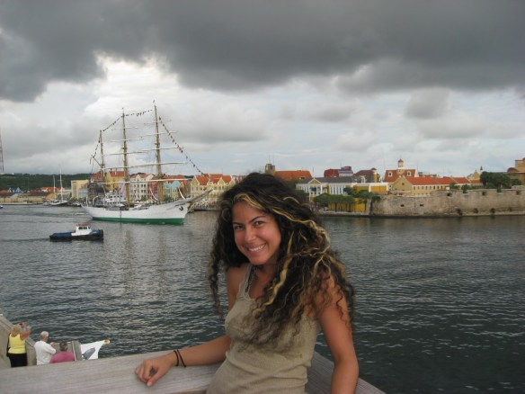 travel without a plan, Curacao harbor