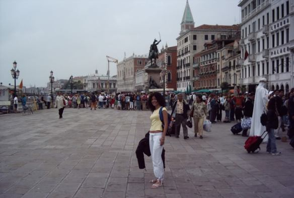 my Euro trip in Italy, Venice arrival