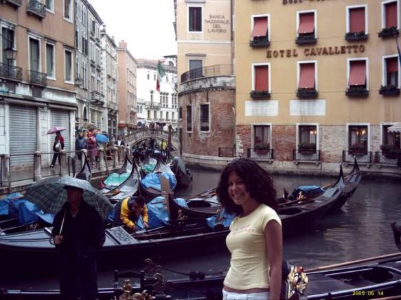 Euro trip, Venice gondolas 2