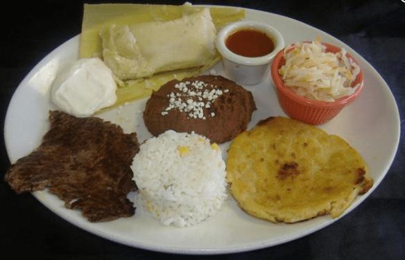 pupuseria in Tampa, combinacion guanaca