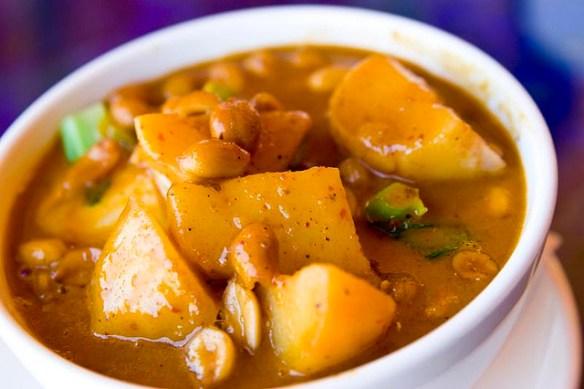 Asian curries list, Thai Massaman curry