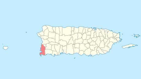 Cabo Rojo beaches map