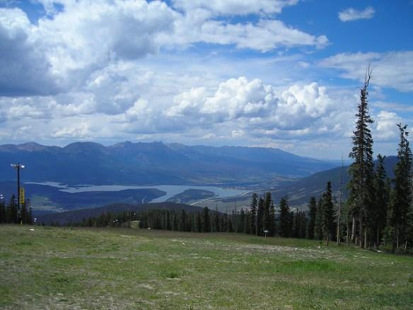 Keystone Colorado summer view