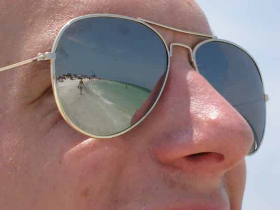 Siesta Key, aviators mirror
