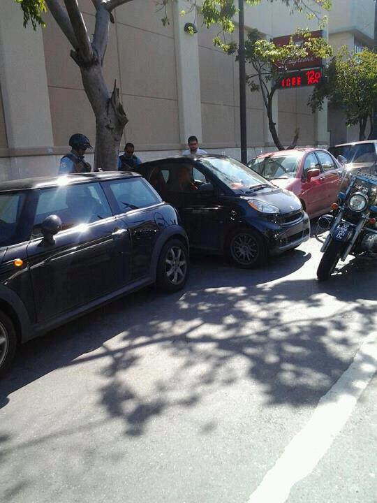 Puerto Rico driving, bad parking
