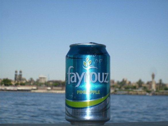 Fayrouz pinapple, Luxor Egypt