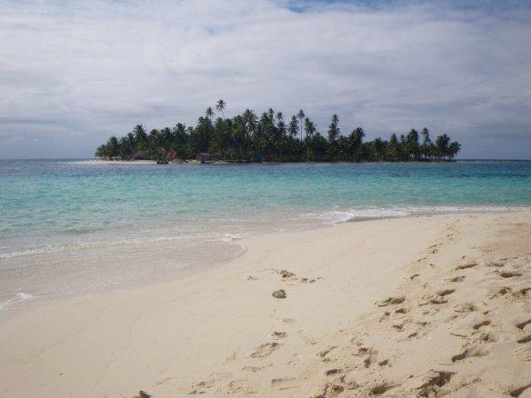 Palm fringed Caribbean island