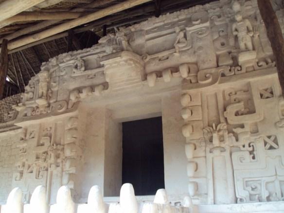 Ukit Kan Le'k Tok' temple, Ek Balam Mayan ruins