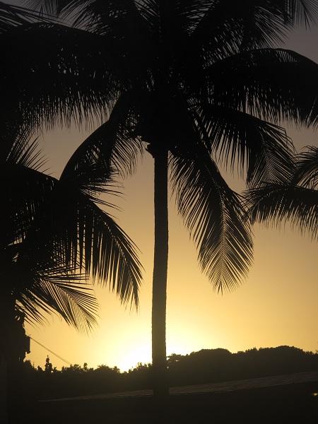 Rincon Puerto Rico sunrise, beach time lapse