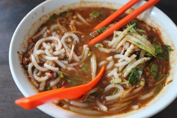 Malaysia foodie guide, asam laksa