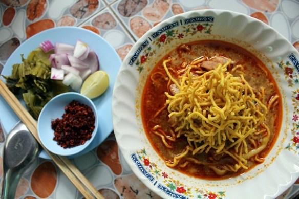 Northern Thailand cuisine, khao soi