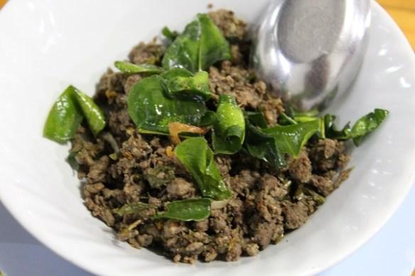 laab moo, Chiang Mai cuisine