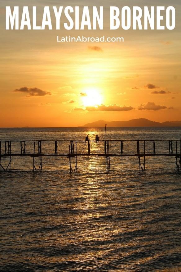 Borneo Malaysia sunset, Mabul