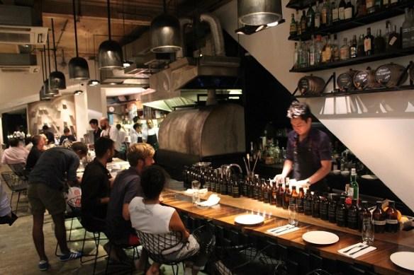 contemporary Singapore food scene