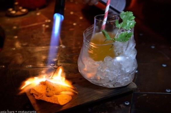 unique Singapore cocktails, The Library