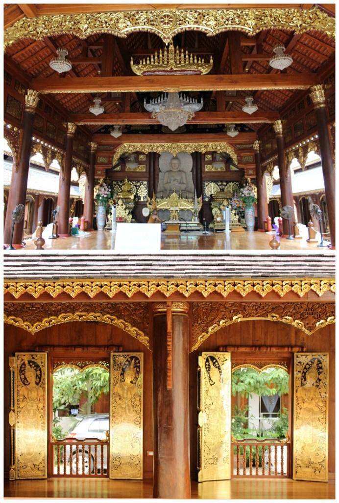 Chiang Mai Temple interior