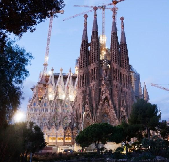 Sagrada Familia interesting facts Spain