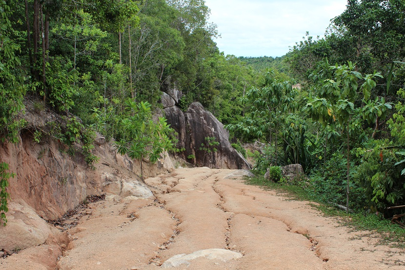 only day in Koh Tao motorcycle road trip