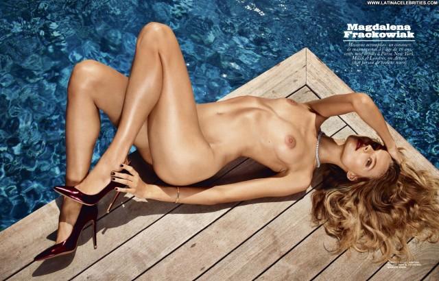 Magdalena Frackowiak Miscellaneous Blonde Gorgeous Small Tits Skinny