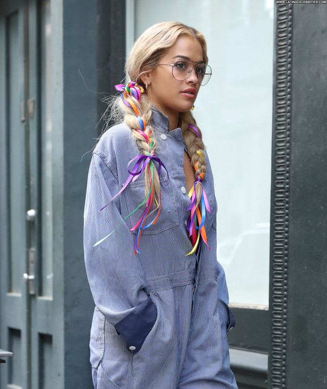 Rita Ora New York British Babe Bra Beautiful Celebrity Posing Hot