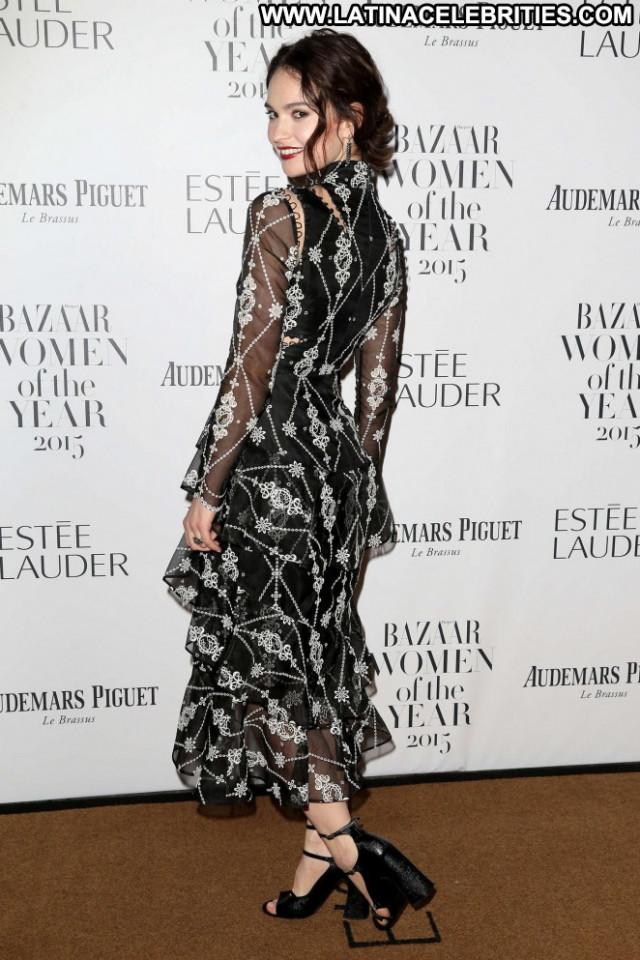 Lily James Babe London Posing Hot Beautiful Paparazzi Celebrity