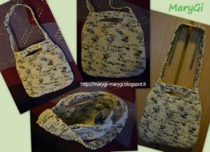 borse di lana riciclata