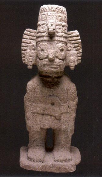 Tlaloc Aztec Deity