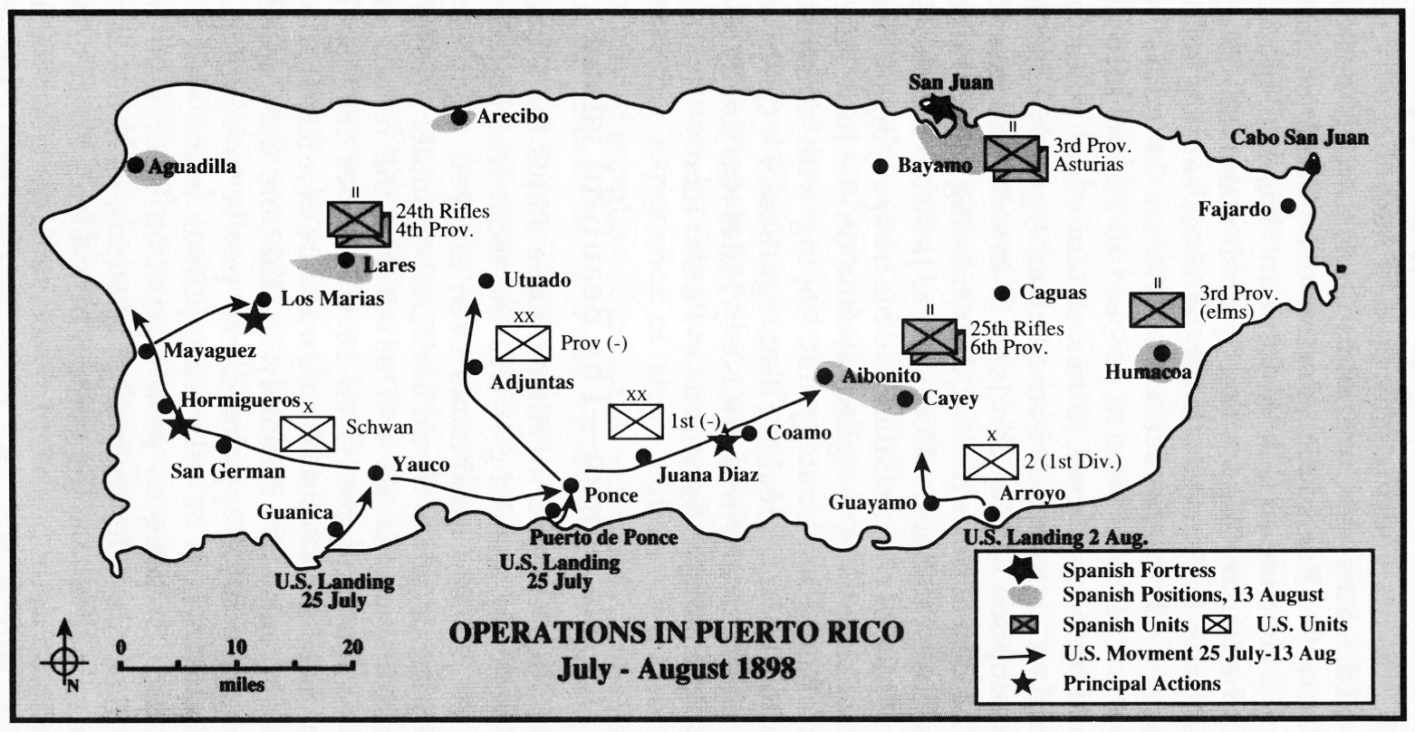 historical overview war against all puerto ricans
