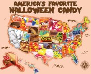 Top Halloween Candy by State