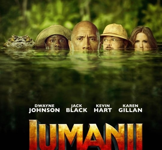More Than A Game: A Review of Jumanji: Welcome to the Jungle [2017]